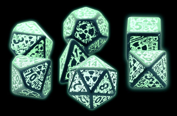 Nuke Dice Glow In The Dark
