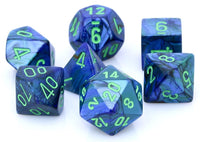 Lustrous Dice Dark Blue
