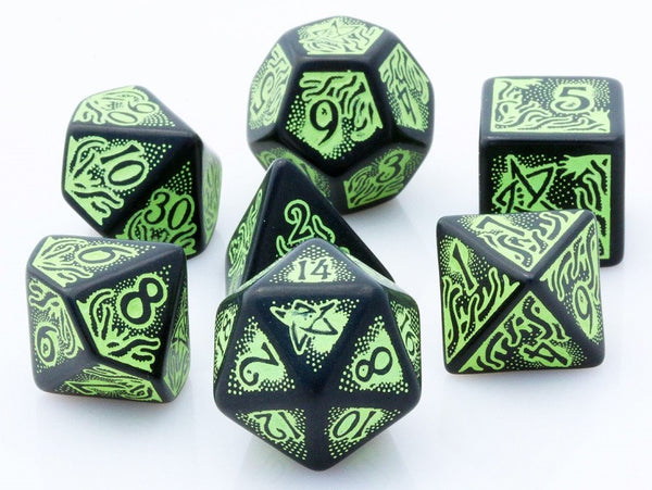 Cthulhu Dice Special Edition Green