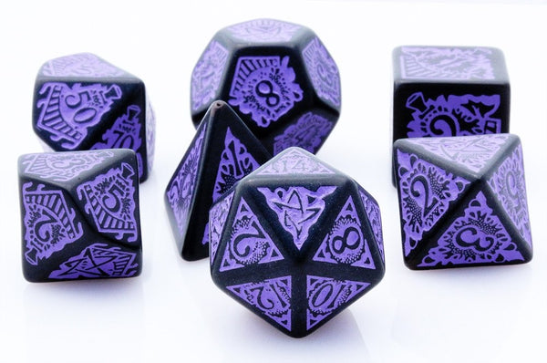 Cthulhu Dice Orient Express Purple