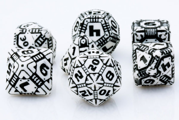 Tech Dice White