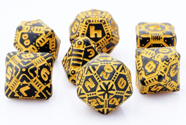Tech Dice Orange