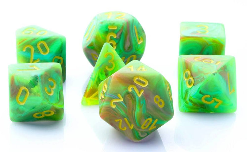 Vortex Dice Slime Green