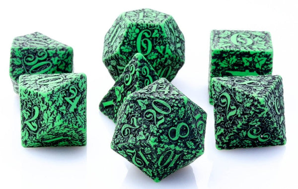 Forest Dice Green