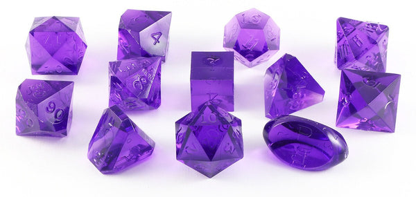 Gamescience Dice Tanzanite 12 Piece Set