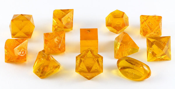Gamescience Dice Topaz 12 Piece Set