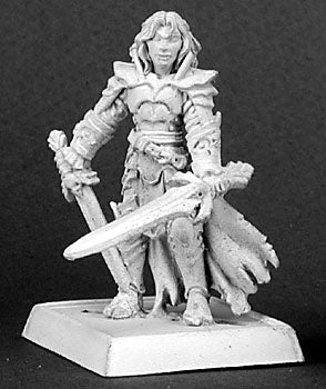 D&D Two Fisted Fighter Miniature