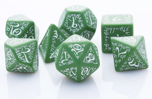 Elven Dice Green