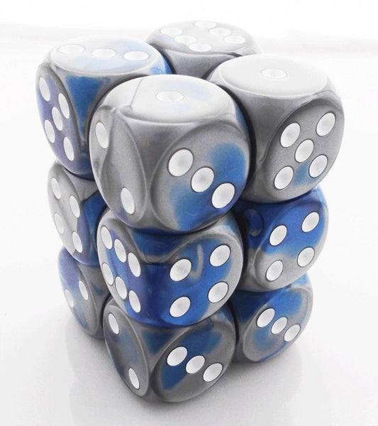 Gemini Dice d6 Blue Steel