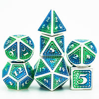 Mermaid Metal Dice For D&D