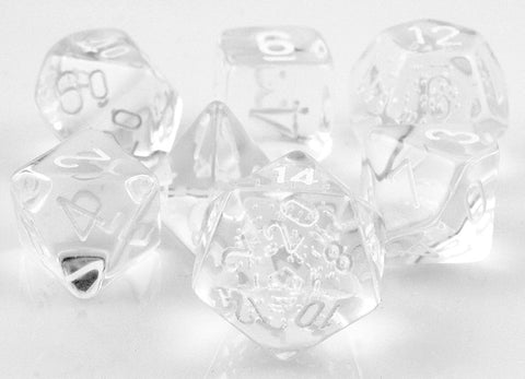 Translucent Dice Clear