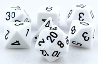 Opaque Dice White