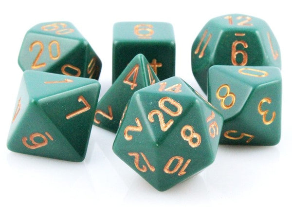 Opaque Dice Dusty Green