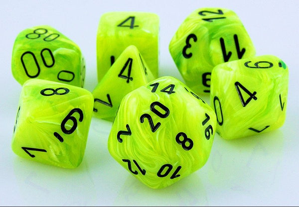 Vortex Dice Bright Green