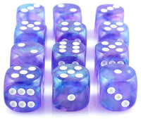Borealis Dice Purple D6