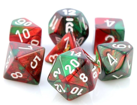 Gemini Dice Red Green