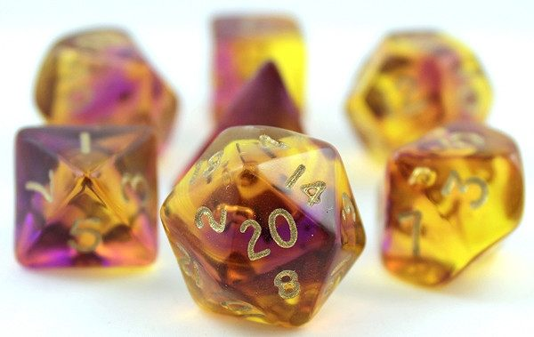 Firefly Dice Purple