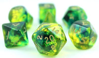 Firefly Dice Green Blue