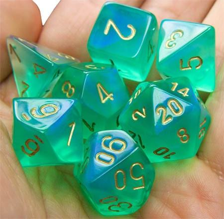 Borealis Dice Light Green