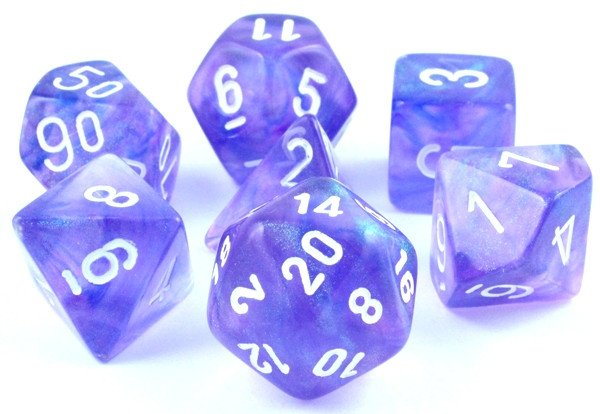 Borealis Dice Purple