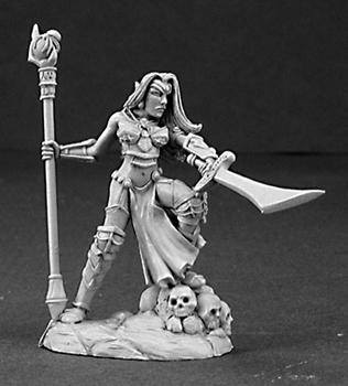 Reaper Miniatures Dark Elf Sorceress 3193