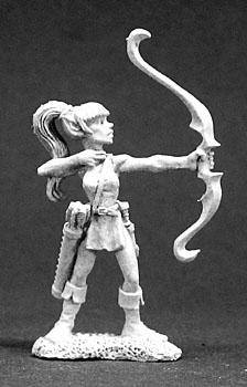 Reaper Miniatures Marlanay Female Elf Archer 3288