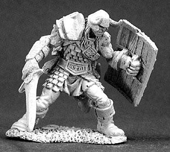 Reaper Miniatures Urich Male Fighter 3282
