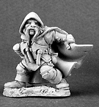 Reaper Miniatures Klaus Copperthumb Dwarf Thief 3099