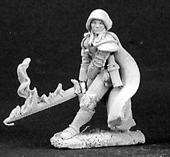 Reaper Miniatures Justine Undead Hunter 3149