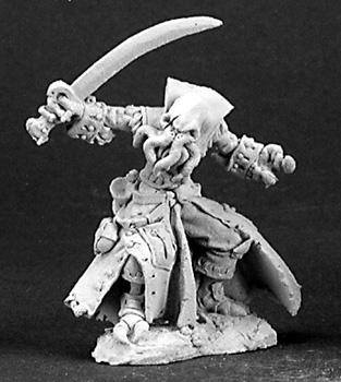 Reaper Miniatures B'thuhl Bathalian Pirate 3135