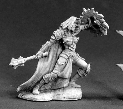 Reaper Miniatures Sora Goldflame Female Cleric 3283