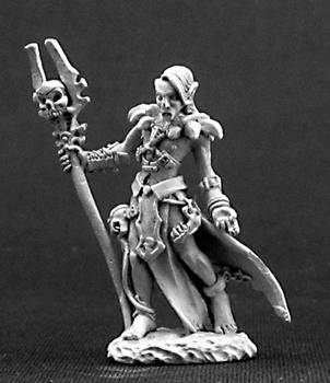 Reaper Miniatures Nanuranidd Male Dark Elf 3247