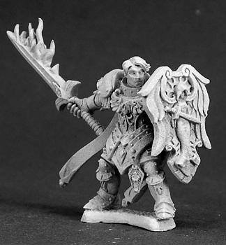 Reaper Miniatures Almaran the Gold Paladin 3292