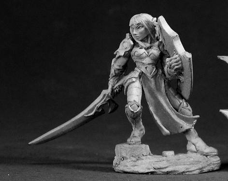 Reaper Miniatures Dorva Female Dark Elf 3004