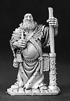 Reaper Miniatures Friar Stone Traveling Monk 3205