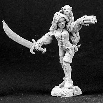 Reaper Miniatures Sela Windsprite Elf Pirate 3128