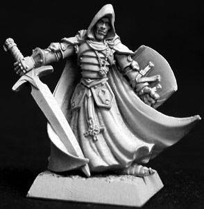 Reaper Miniatures Sir Conlan Male Fighter 14037