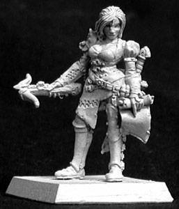 Reaper Miniatures Kyla Female Bounty Hunter 14025