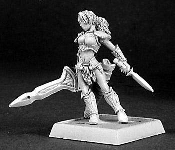 Reaper Miniatures Marda Female Fighter 14339