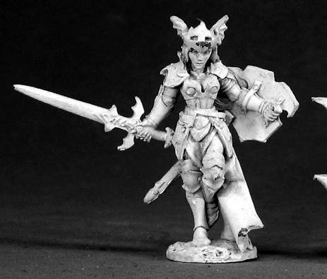 Reaper Miniatures Monique Denoir Fighter 2551