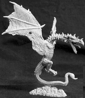 Reaper Miniatures Blacksting Wyvern 2636