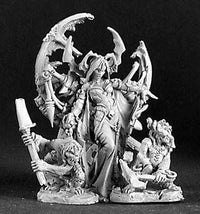 Reaper Miniatures Ghoul Queen and Servants 3126