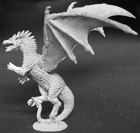 Reaper Miniatures Amber Dragon 2457