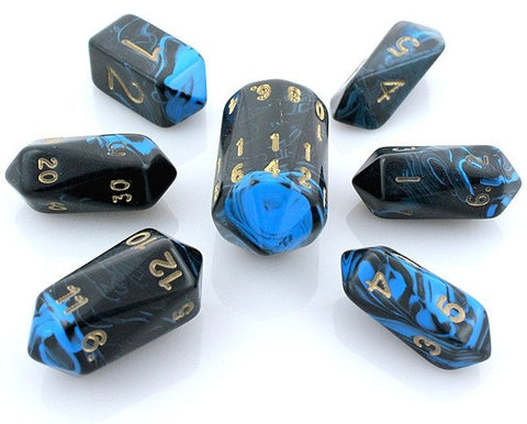 Oblivion Dice Crystal Blue