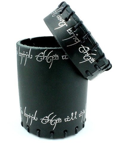 Elven Dice Cup Black