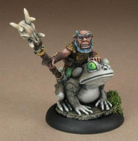 Miniatures Gnome Druid With Toad
