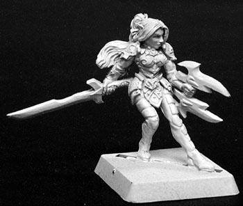 Reaper Miniatures Aundine Female Elf Fighter 14089