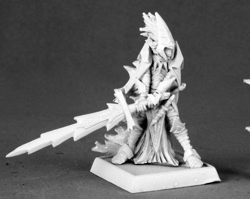 Reaper Miniatures Avrix Dirthe Dark Elf Champion 14594
