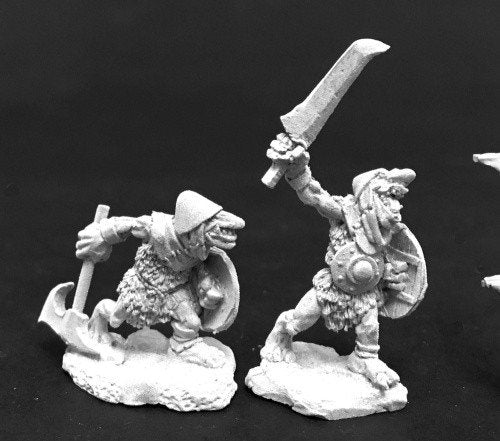 Reaper Miniatures 3776 Cave Goblin Warriors