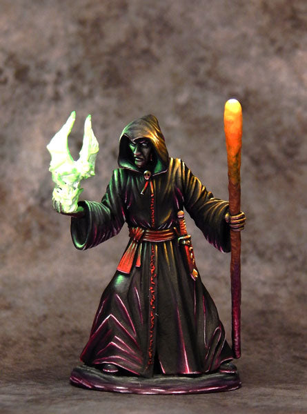 Cool D&D miniature necromancer